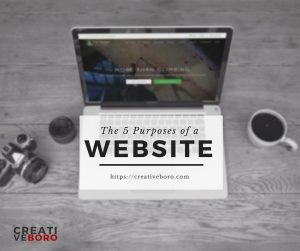5 Purposes for your Website
