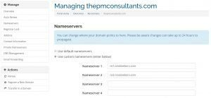 domain management