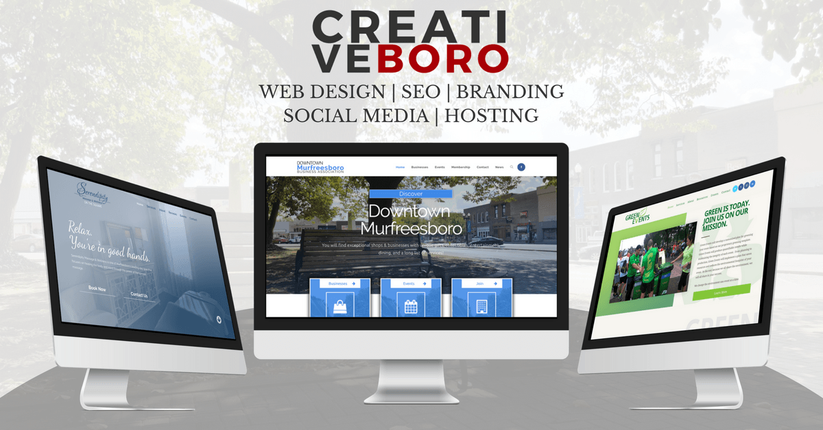 Web Design - SEO - Hosting | Murfreesboro, TN | Nashville, TN | Franklin, TN | CREATIVE BORO