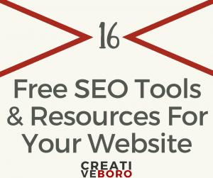 16 Free SEO Tools And Other Resources For Your Website