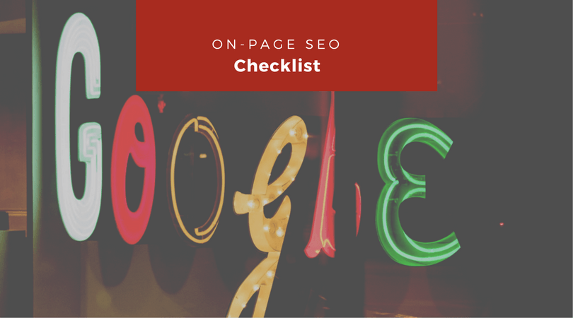 On-Page SEO Checklist For WordPress